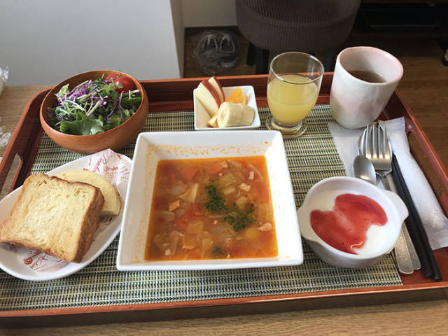 Expensive Restaurant Meals? Nope, Just Some Casual Japanese Hospital Food