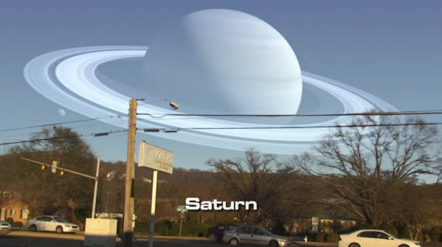 If We Could See Other Planets In The Sky