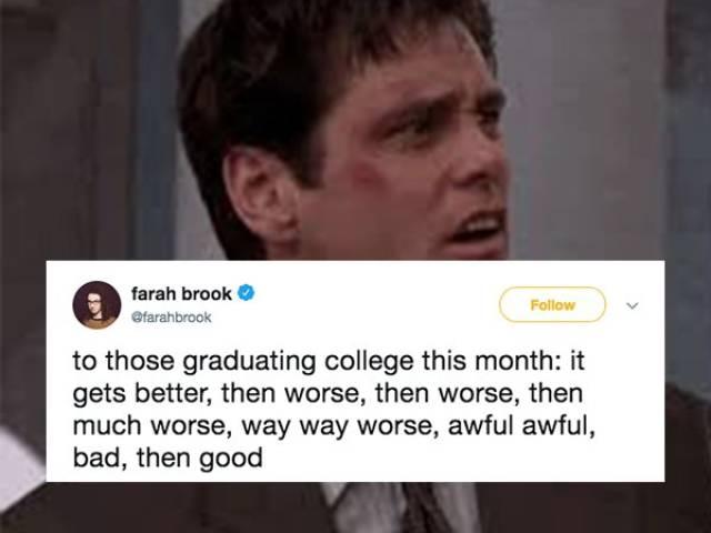 Graduation Is A Trap!