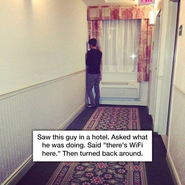 Not All Hotels Are Nice And Cozy