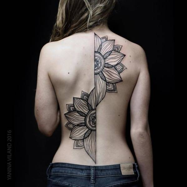 Spine Tattoos Is The New Magnificent Trend