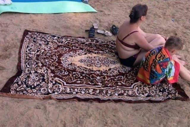 They Really Love Their Carpets In Russia