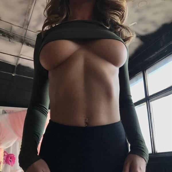 Boobs Are Always Looking Better From Below!