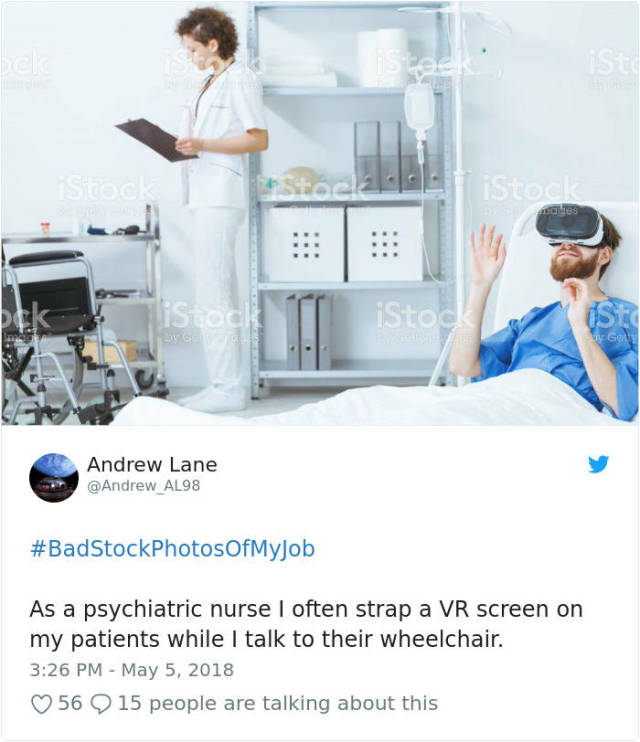 Stock Photos Never Get People's Jobs Right