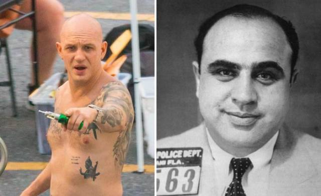 Bald Tom Hardy Is Ready To Play Al Capone