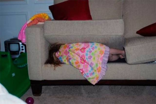 Children Are Hide And Seek Experts