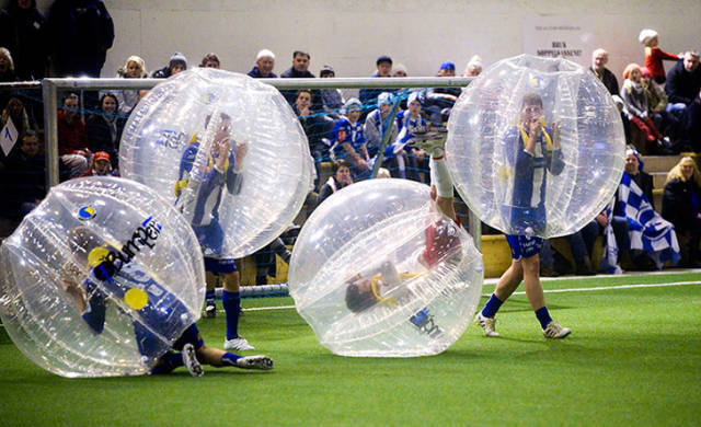 People Are Inventing Strange Sports All The Time