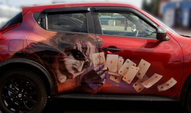 When Aerography Turns A Car Into A Piece Of Art