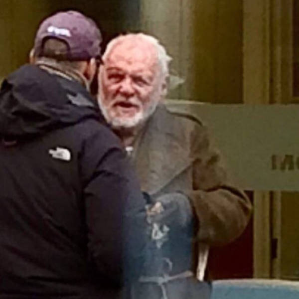"""Anthony Hopkins Was Mistaken For A Homeless During The Filming Of """"King Lear"""""""