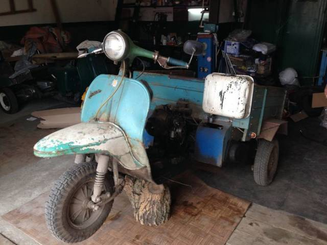 An Odd Vehicle Gets A New Life