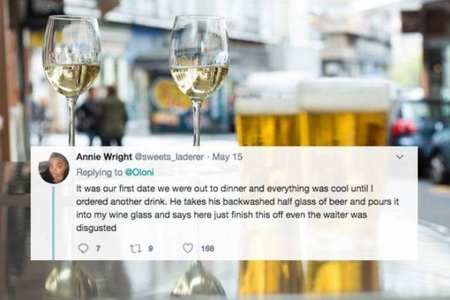 Some Women Get Really Unlucky With Their First Dates…
