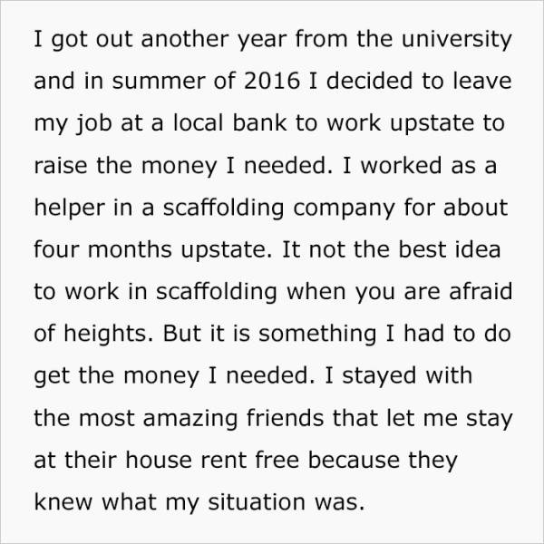 After Being Suspended From College, This Guy Worked Hard To Make His Parents Proud