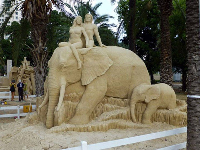 Sand Turned Into Something Unbelievably Beautiful