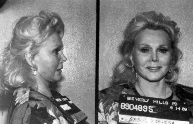 Even Celebs Have Their Mugshots