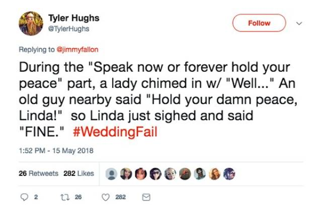 Wedding Fails That Happen Once In A Lifetime