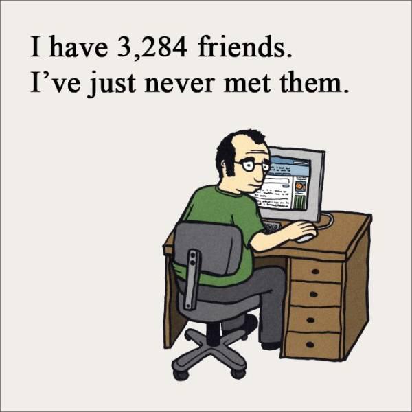 Having Friends Is Hard…