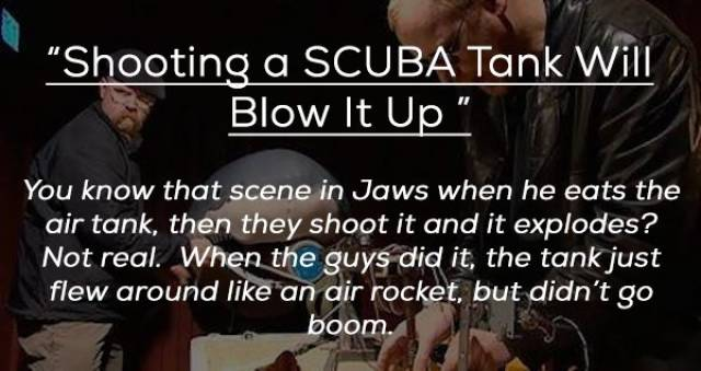 Mythbusters Seem To Have Ruined Everything We Knew And Believed