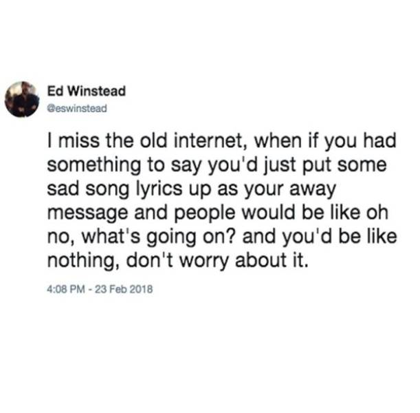 Nothing Is Stronger Than Nostalgia
