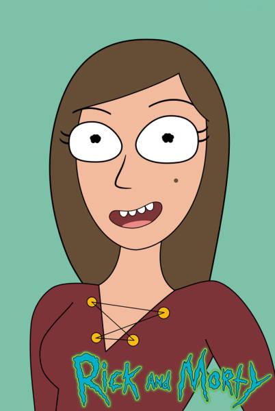 Woman Creates A Challenge For Herself To Draw Self-Portraits In 50 Cartoon Styles And Nails It Perfectly