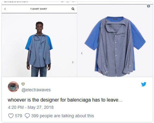 """Balenciaga Is Back With Another """"Slightly Interesting"""" Piece Of Clothing"""