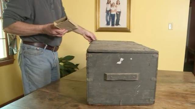 Old Trunk Is Returned To Its Owner After So Many Years