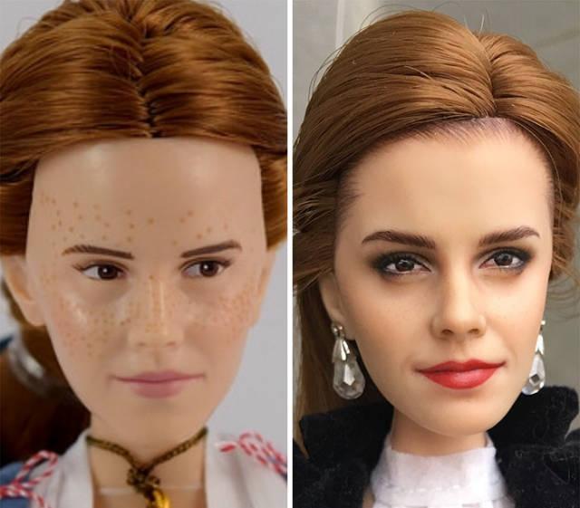 Ukrainian Artist Transforms Popular Dolls Into Real Beauties