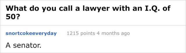Lawyers Have Their Own Special Kind Of Jokes