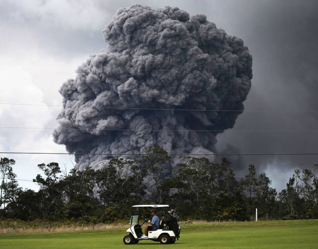 Photos Of Mount Kilauea's Terrifying Eruption