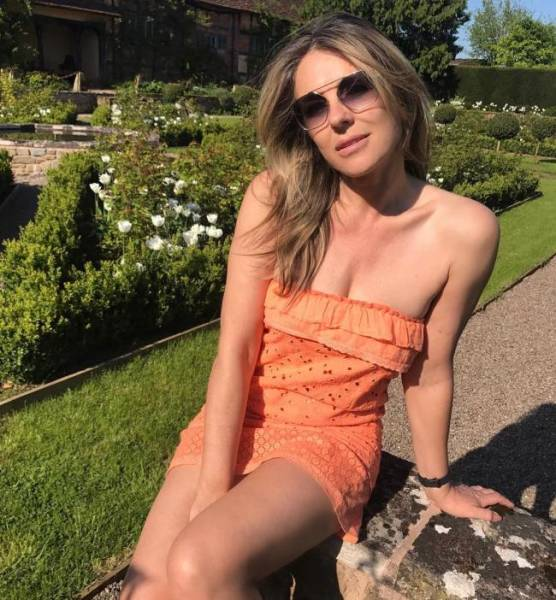 Elizabeth Hurley Is Looking Far Better Than Her 53 Years!