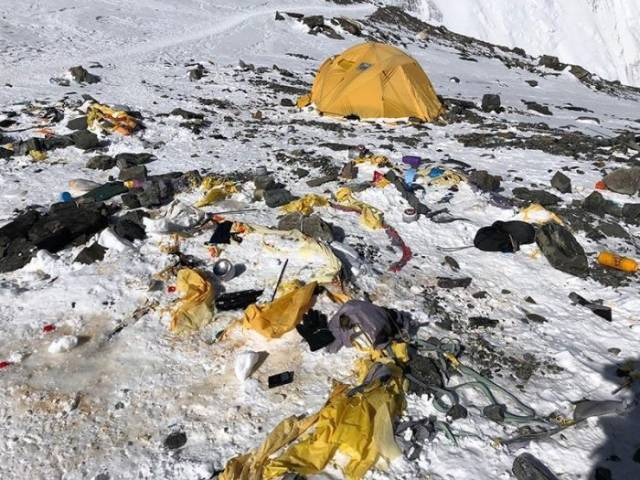 Everest Is Definitely Not The Cleanest Place