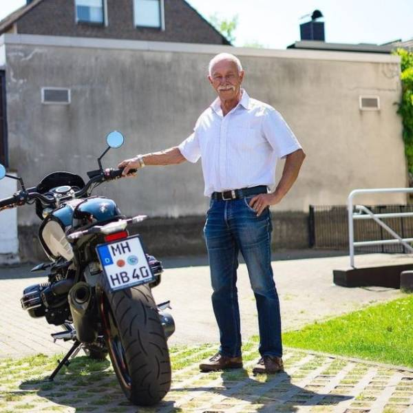 Heinz-Werner Bongard Is 74 Years Old, And What Excuse Do You Have?