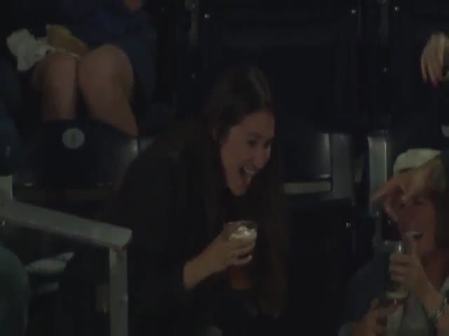 She Knew What To Do With That Beer