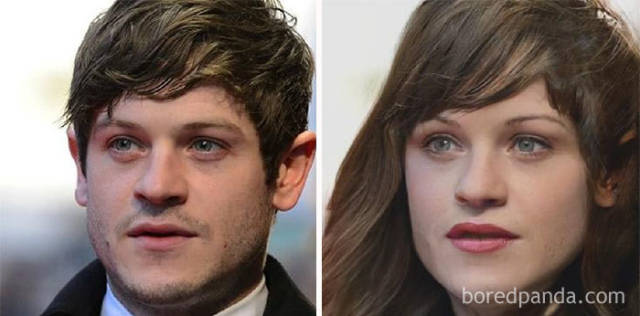 """""""Game Of Thrones"""" Male Actors Were Turned Into Women"""