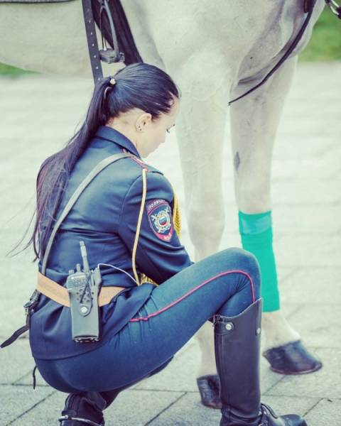 Russian Police Is Beautiful