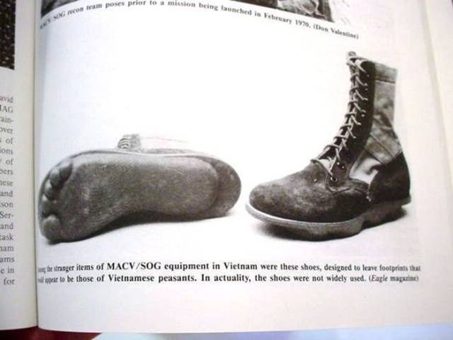 These Boots Were Used By US Special Forces Units MACV SOG In The Vietnam War