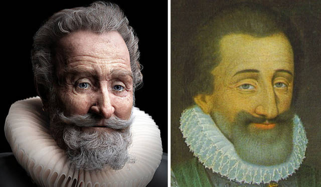 Scientifically Recreated Faces Of Historical People Are Kinda Creepy