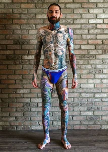 This Guy Got A Guinness Record For The Most Marvel Tattoos