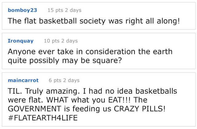 That's How A Basketball Can Be Used To Prove That Earth Isn't Flat