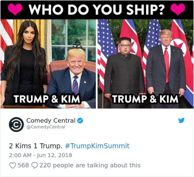 Trump's Meeting With Kim Jong-Un Is A Goldmine For Memes!