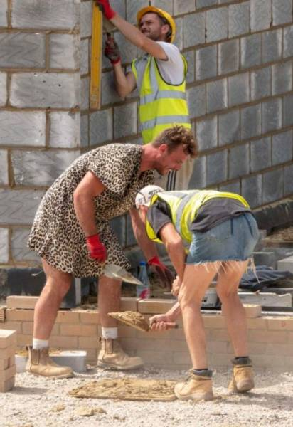 British Builders Can't Be Stopped By A Mere Shorts Ban
