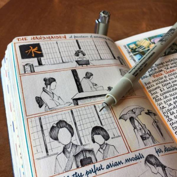 Have You Seen A Sketchbook Like This Before?
