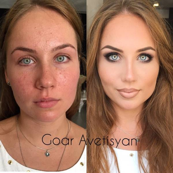 Makeup Always Makes A World Of Difference…