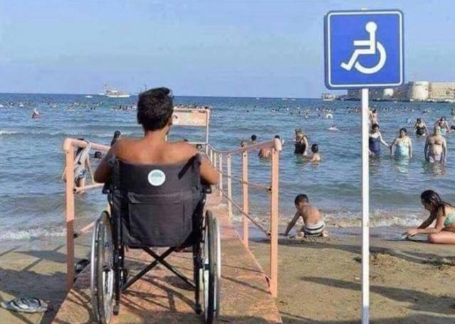 Disabled Want To Swim Too!