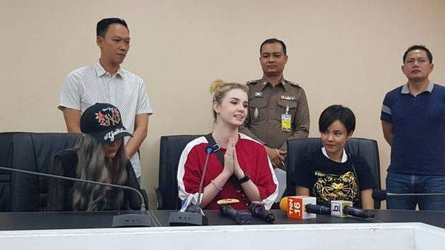 Irish Model Promotes Gambling Websites In Thailand In Low Cut Tops, Could Go To Jail