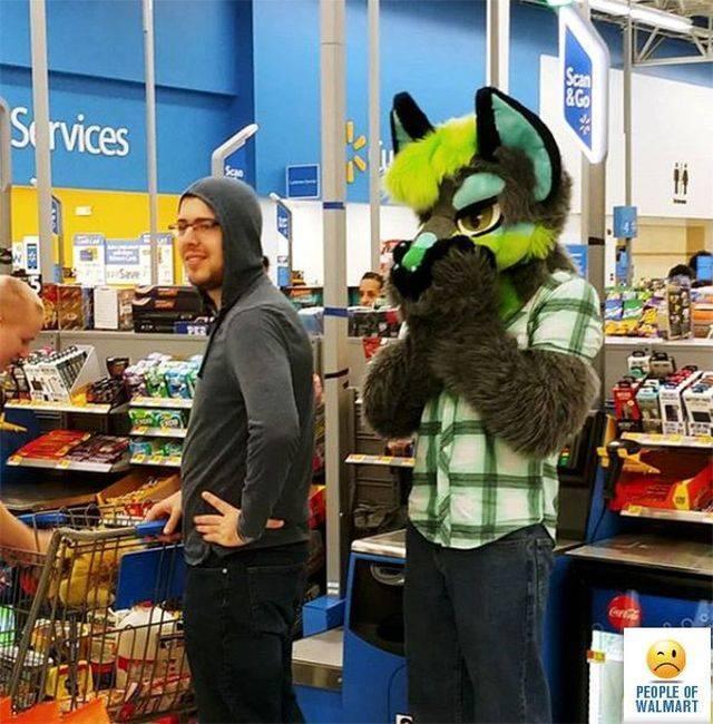It Seems Like Only Weirdos Go To Walmart