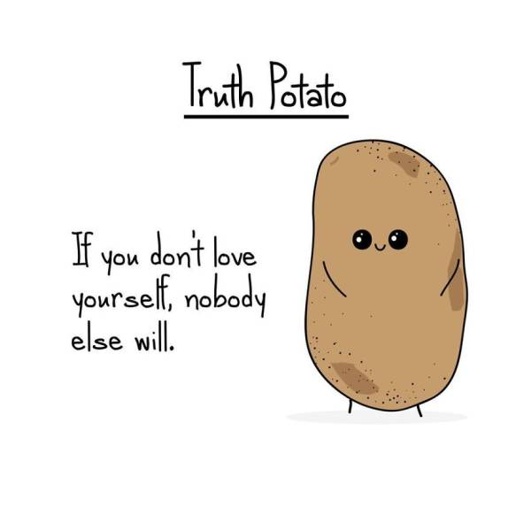 This Potato Dishes Out Cold Hard Truth
