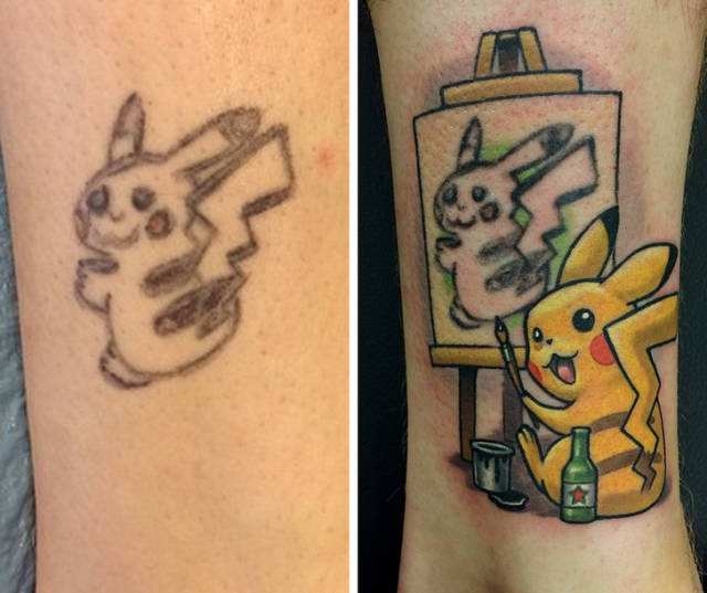No Bad Tattoo Is Doomed To Stay Bad Forever