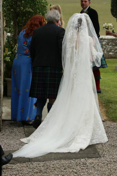 Take A Look At Kit Harrington's And Rose Leslie's Wedding