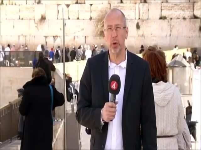 Expert News Report Videobombing!