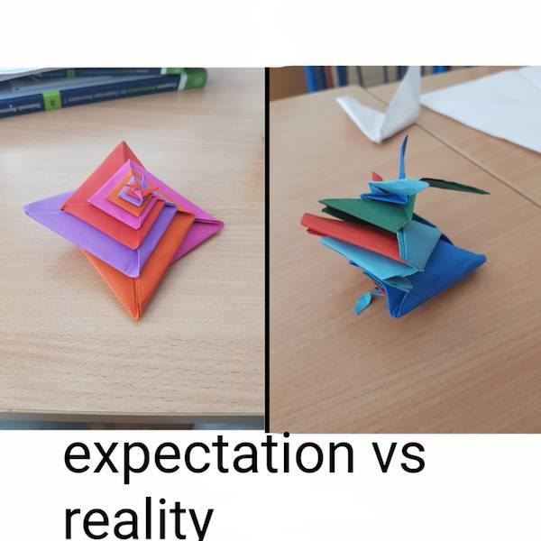 Reality Has Never Heard Of Your Expectations…